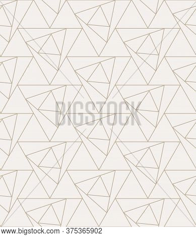 Repeat Ramadan Graphic Geo, Decoration Pattern. Continuous Simple Vector Luxury Grid Texture. Seamle