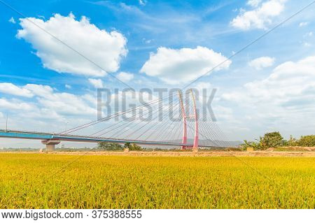 Taiwan's Tallest Cable Stayed Bridge In Zhubei, Taiwan
