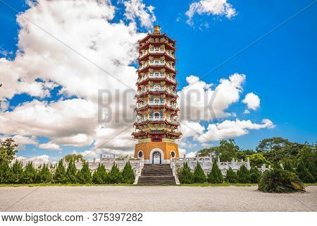 Ci En Pagoda Near Sun-moon Lake In Nantou, Taiwan