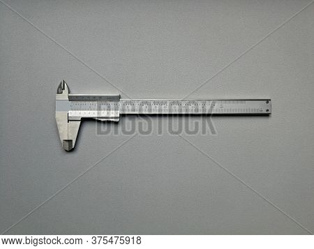 Steel Caliper With Metric And Inch Dials, Image