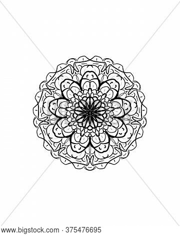 Geometric Mandala Illustration
