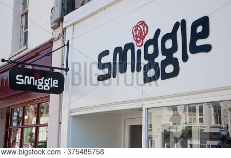 The Smiggle Shop Sign In Stratford Upon Avon In The Uk Taken 22nd June 2020
