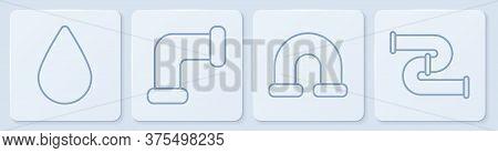 Set Line Water Drop, Industry Metallic Pipe, Industry Metallic Pipe And Industry Metallic Pipe. Whit