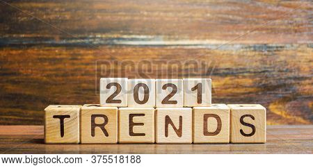 Trends 2021 Blocks. World Changes In The And Lifestyle. Popular And Relevant Topics. New Normal. Tec