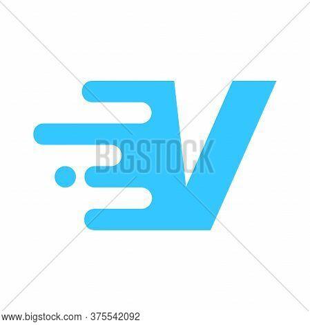 Modern And Minimalist Logo Design Motion Font V