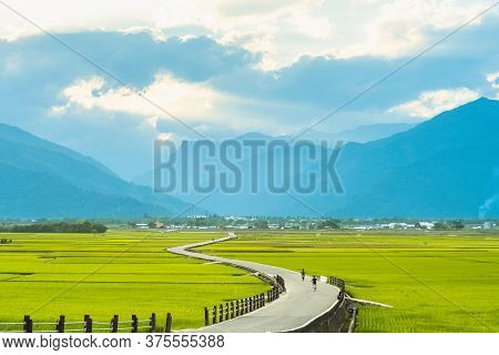 Scenery Of Heaven Road, Landscape Of Chishang, Taitung
