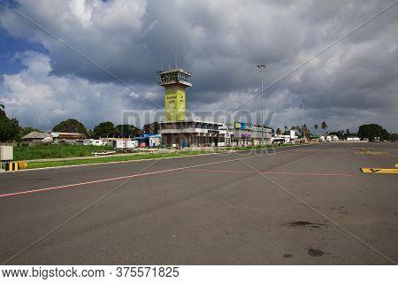 Stone Town, Zanzibar / Tanzania - 03 Jan 2017: Airport In Zanzibar Island, Tanzania