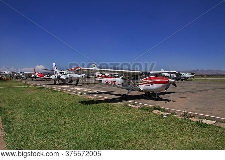 Arusha / Tanzania - 03 Jan 2017: Airport In Arusha City, Tanzania