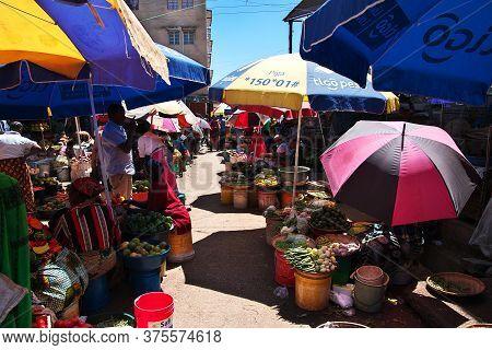 Arusha / Tanzania - 03 Jan 2017: Local Market In Arusha City, Tanzania