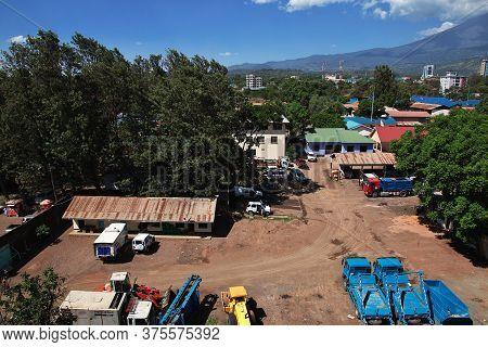 Arusha / Tanzania - 03 Jan 2017: The Vintage House In Arusha City, Tanzania