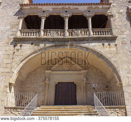 Juan Pizarro De Orellana Palace, Trujillo, Extremadura, Spain