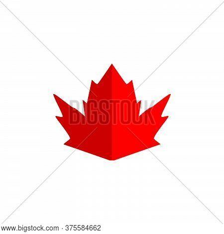 Leaf Maple Vector Design Template Illustration