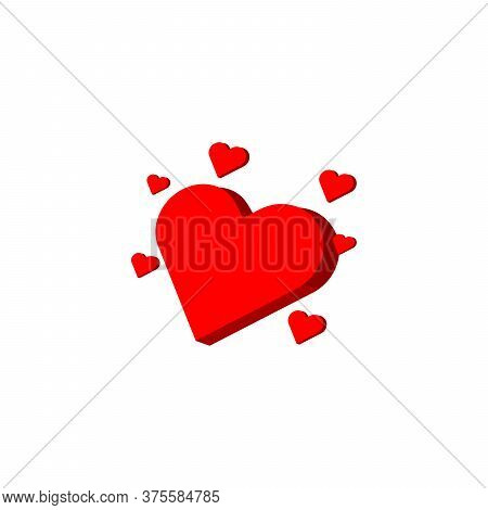 Heart Icon . Modern Heart , Love Logo. Love Icon Sign. Heart Icon Vector, Love Hearts, Heart Icon Ve