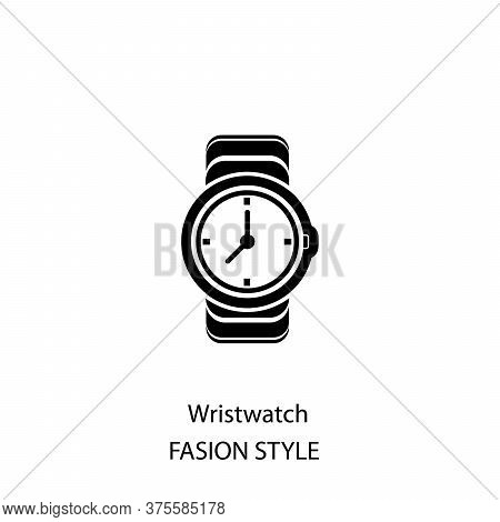 Wristwatch Icon Isolated On White Background From Watches Collection. Wristwatch Icon Trendy And Mod