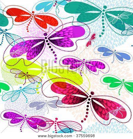 Seamless Vivid Pattern