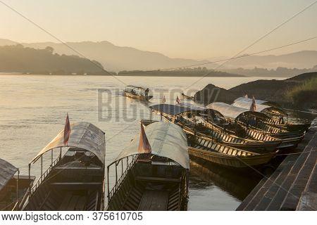Thailand Chiang Khong Mekong River