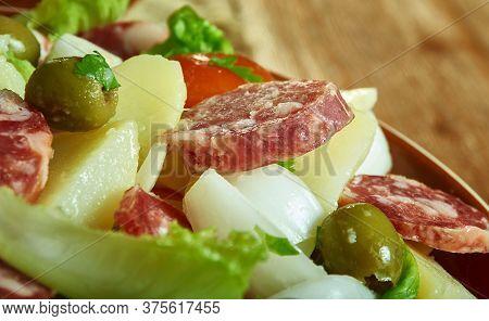 Palermo Sicilian-style Hot Sausage Salad