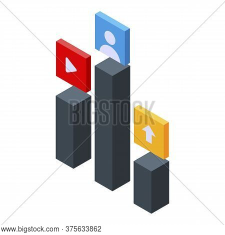 Priority Testing Software Icon. Isometric Of Priority Testing Software Vector Icon For Web Design Is