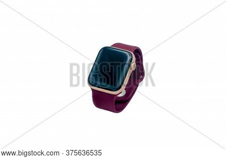 Smart Watch Isolated On White Background, Smart Technology