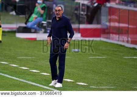 Milano (italy) - 07th July 2020. Italian Serie A. Maurizio Sarri , Head Coach Of Juventus Fc, During