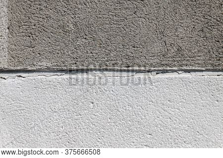 Background Two-tone Concrete, Light And Dark Gray, Divided In Half