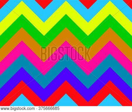 Colorful Seamless Pattern. Geometric Background, Wallpaper, Textile, Print