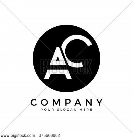Ac Logo Design Business Typography Vector Template. Creative Linked Letter Ac Logo Template. Ac Font