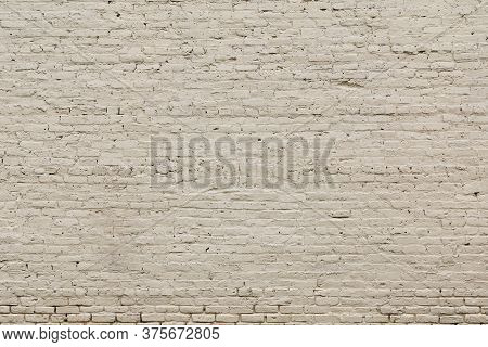 A White Painted Old Brick Wall Background Backdrop