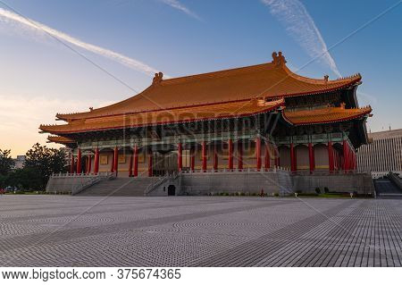 Building Of The National Chiang Kai-shek Memorial Hall A Famous National Monument  In Memory Of Gene