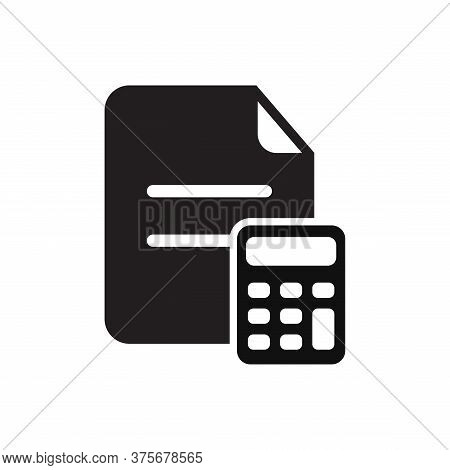Accounting Vector Icon. Business And Financial Symbol, Accounting Best Icon