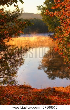 Colorful Scenic Landscape In Hdr