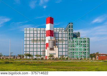 Incinerator For Municipal Waste In Hsinchu, Taiwan