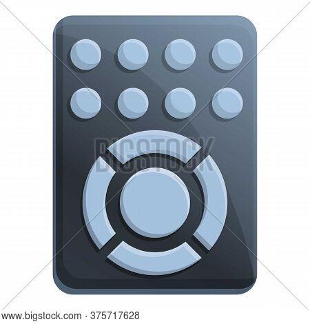 Air Conditioner Remote Control Icon. Cartoon Of Air Conditioner Remote Control Vector Icon For Web D