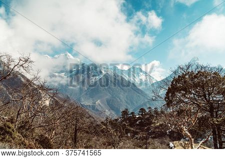 Himalaya Mountain Everest Landscape