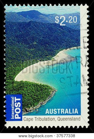 Australia Cape Tribulation Postage Stamp
