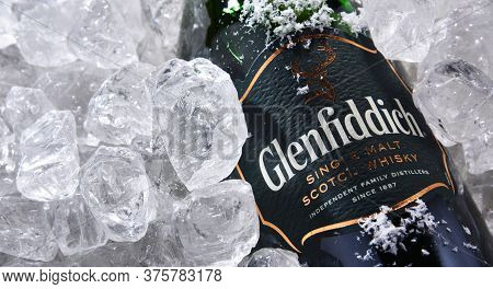 Bottle Of Glenfiddich Single-malt Scotch Whisky
