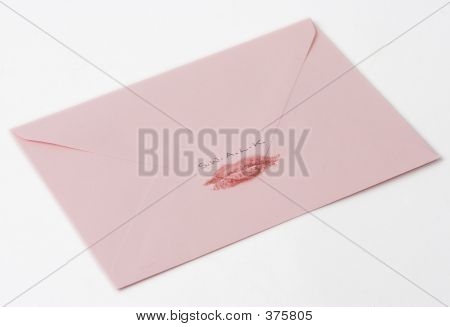 Kiss On Pink