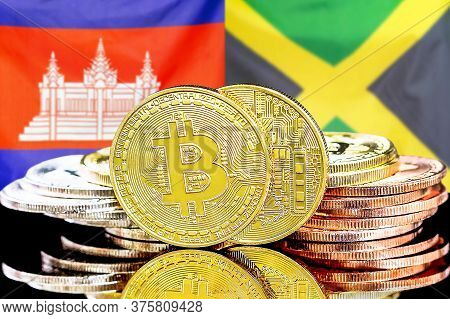 Concept For Investors In Cryptocurrency And Blockchain Technology In The Cambodia And Jamaica. Bitco