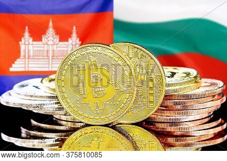 Concept For Investors In Cryptocurrency And Blockchain Technology In The Cambodia And Bulgaria. Bitc
