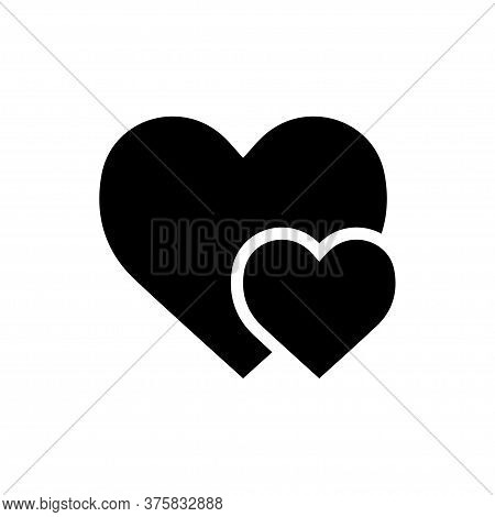 Heart Signage Icon Vector Illustration Template Design Trend