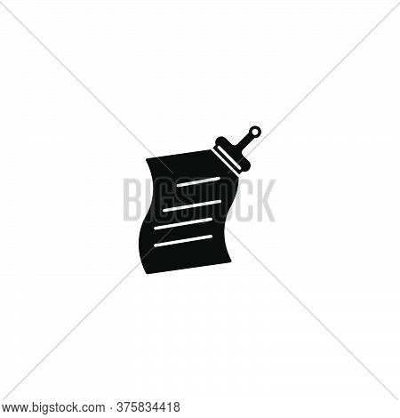 Illustration Vector Graphic Of Paperclip Icon Template