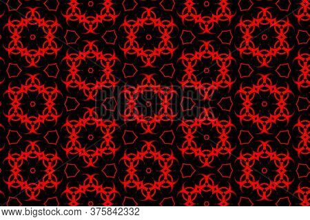 Abstract Seamless Geometric Patterns Background - Unique Geometric Design - Abstract Geometric Patte