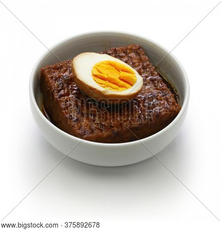 taiwanese home cooking: simmered tofu and egg