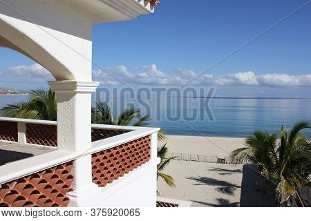 A Mexican Vacation Rental With A View On The Baja Of Mexico Overlooking The Sea Of Cortez.