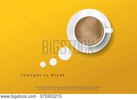 Coffee Poster Design Advertisement Flayers Vector Illustration