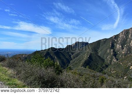Views And Vistas From The Top Of Rattlesnake Canyon In California.