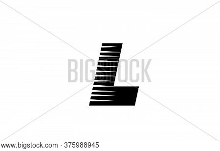 L Alphabet Letter Logo Icon For Company And Business. Creative Design For Corporate Identity