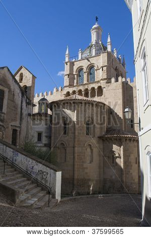 Old Cathedral Of Coimbra