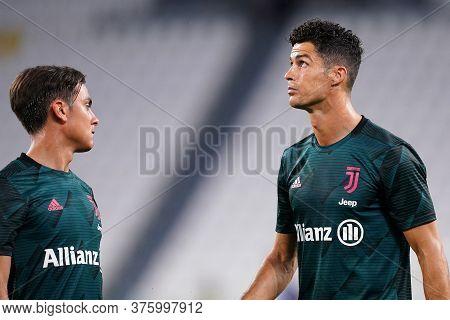 Torino (italy). 11th July 2020. Italian Football League Serie A. Juventus Fc Vs Atalanta Bergamasca