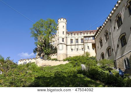 Hohenschwangau Castle And The Path To It